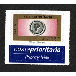 2004 Posta Prioritaria 2,20€ II° emissione
