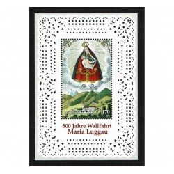 2013 Austria Maria Luggau foglietto unusual MNH/**