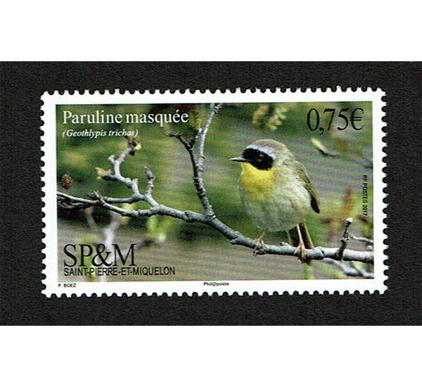2017 Saint Pierre et Miquelon SP&M tematica uccelli