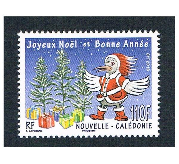 2016 Nuova Caledonia tematica Natale MNH/**