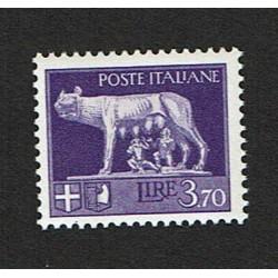1929 Serie Imperiale Lire 3,70 Sas.257 MNH/**