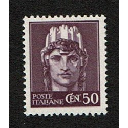 1945 RSI Cent 50 imperiale senza fasci Sas.538 MNH/**