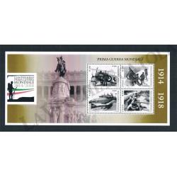 2015 Foglietto Centenario Prima Guerra Mondiale MNH/**