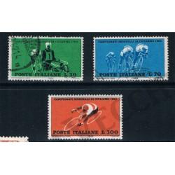 1962 - Campionati Ciclismo - Varieta' colori fuori registro