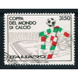 1988 - Italia 90 - Varieta' 1835A fondo verde - US