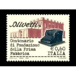 2008 Macchine per scrivere Olivetti MNH/**