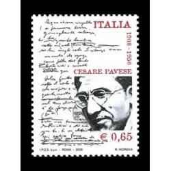 2008 Centenario della nascita di Cesare Pavese MNH/**