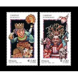 2015 Folclore Carnevale Sciacca e Putignano MNH/**