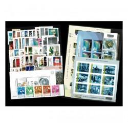 2012 Repubblica annata completa MNH/** 55 val+4BF+Minifoglio Juve
