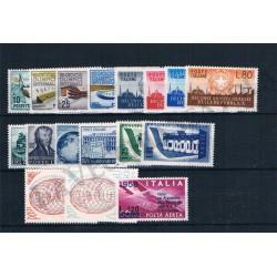 1956 Repubblica Italiana - Annata completa MNH/** 17val