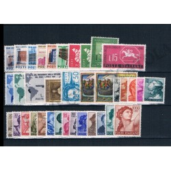 1961 Repubblica Italiana - Annata completa MNH/** 36val