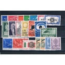 1962 Repubblica Italiana - Annata completa MNH/** 21val