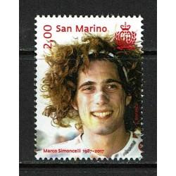 2017 San Marino Marco Simoncelli MNH/**
