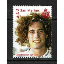 2017 San Marino Marco Sioncelli MNH/**