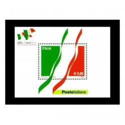 2011 150º anniversario unità d'Italia - FOGLIETTO