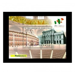 2011 proclamazionel regno d'Italia - FOGLIETTO MNH/**