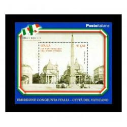2011 Unità d'Italia - FOGLIETTO MNH/**