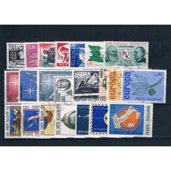 1965 Repubblica Italiana - Annata completa MNH/** 22val