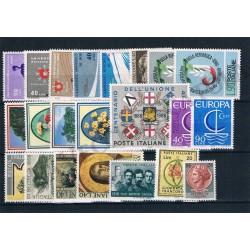 1966 Repubblica Italiana - Annata completa MNH/** 22val