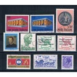 1969 Repubblica Italiana - Annata completa MNH/** 10val