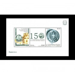 2012 Anniversario Lira italiana FOGLIETTO MNH/**