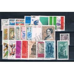 1971 Repubblica Italiana - Annata completa MNH/** 25val
