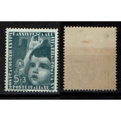 1937 Colonie Estive Sas.415 MH/* Lire 5 + 3