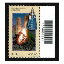 2012 Folclore San Marco in Lamis Codice a Barre DX