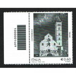 2012 Cattedrale di Trani Codice a Barre Sinistro