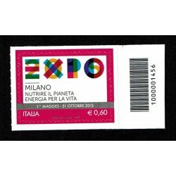 2012 EXPO Milano 2015 Codice a Barre Alto