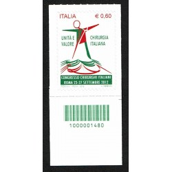 2012 Chirurgia italiana Codice a Barre DX