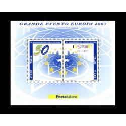 2007 50º anniversario dei trattati Roma MNH/**