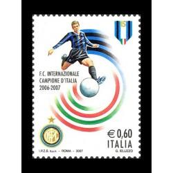 2007 Inter campione d'Italia 2006-2007 MNH/**