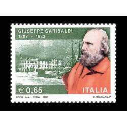 2007 2º centenario Giuseppe Garibaldi MNH/**
