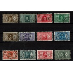 1932 Pro Società Dante Alighieri serie completa usata