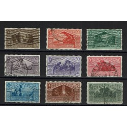 1930 Bimillenario di Virgilio serie completa usata