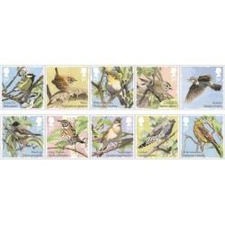 2017 Gran Bretagna Songbirds Uccelli canori