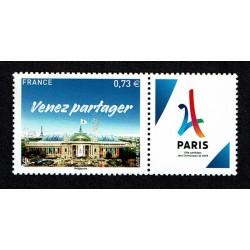 2017 Francia candidatura Parigi Olimpiadi 2024
