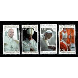 2015 Vaticano Papa Francesco MNH/**