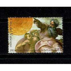 2015 Vaticano Anno internazionale della luce MNH/**