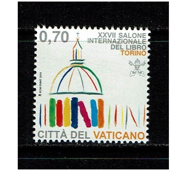 2014 Vaticano Salone del libro MNH/**
