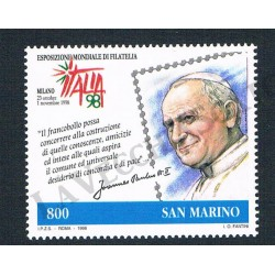 1998 - Congiunta San Marino - Esposizione Filatelia MNH/**