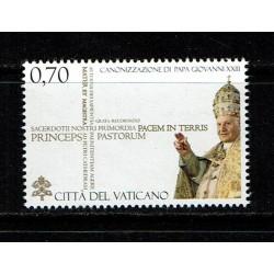 2014 Vaticano Canonizzazione papa Giovanni XXIII MNH/**