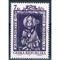 1997 - Sant Alberto da Praga Congiunta Rep. Ceca-Vaticano - MNH/**