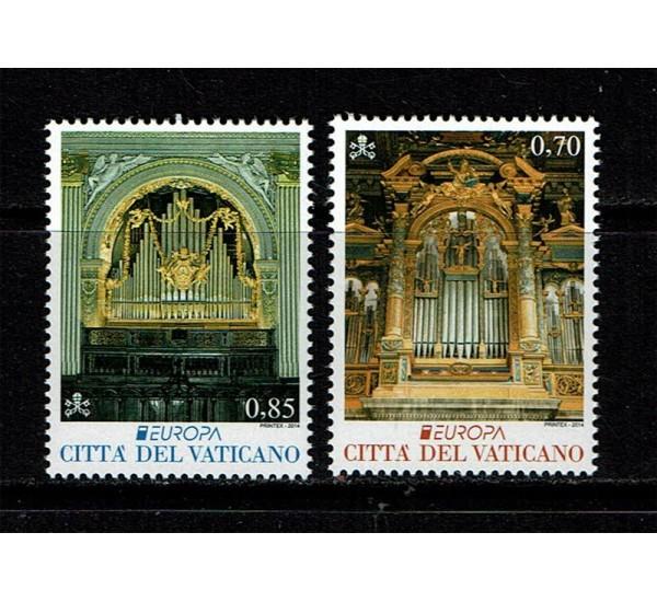 2014 Vaticano Serie PostEurope MNH/**