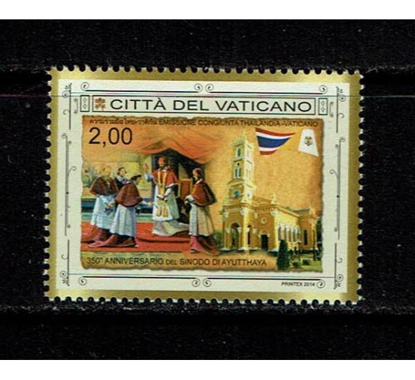 2014 Vaticano Sinodo di Ayutthaya MNH/**