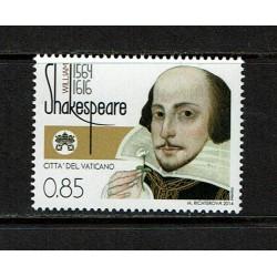2014 Vaticano William Shakespeare MNH/**