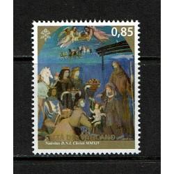 2014 Vaticano Natale MNH/**