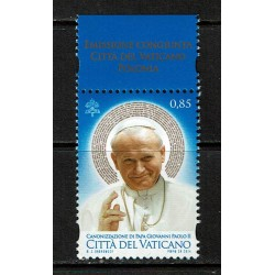 2014 Vaticano Canonizzazione papa Giovanni Paolo II MNH/**