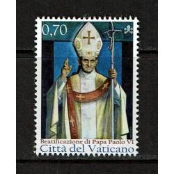 2014 Vaticano Beatificazione di papa Paolo VI MNH/**